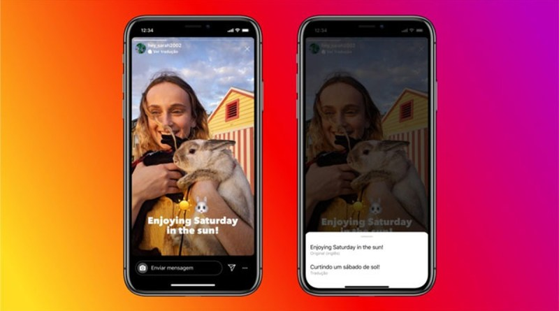 Instagram ganha tradução de textos nos Stories