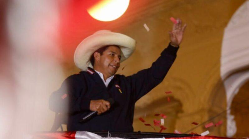 Líderes sul americanos parabenizam Castillo pela eleição no Peru; Brasil silencia