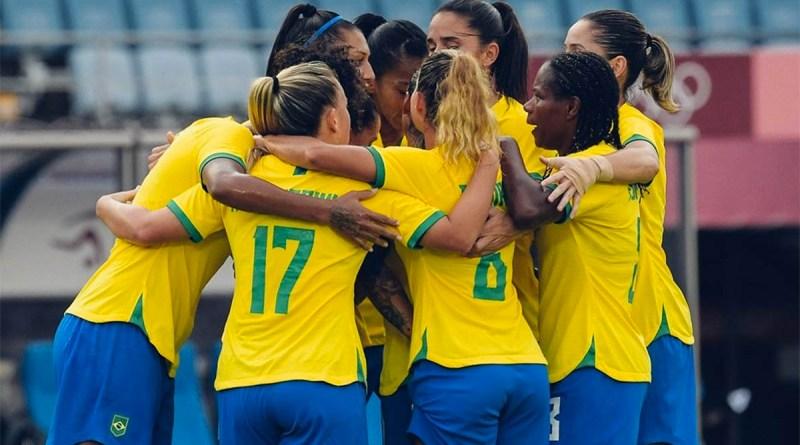 Seleção feminina de futebol estreia com 5 a 0 sobre a China