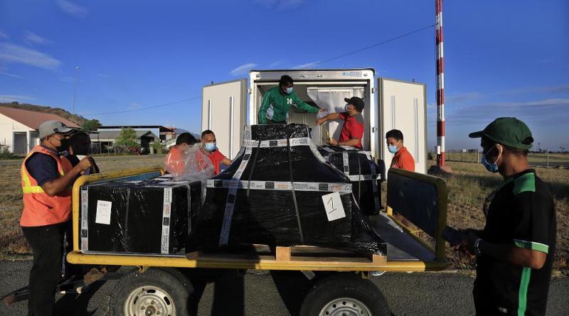 Timor Leste recebe vacinas contra a covid 19 de Portugal