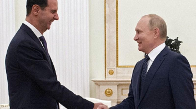 Ao encontrar Assad, Putin condena presença ilegal dos EUA na Síria   Hora do Povo