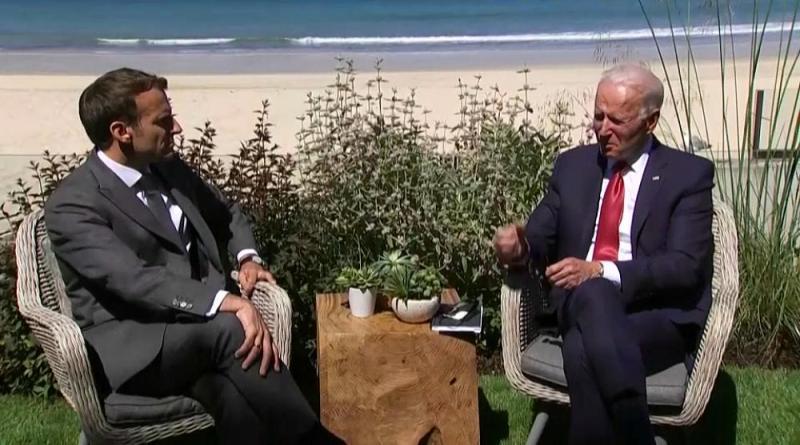 Biden e Macron fizeram as pazes ao telefone