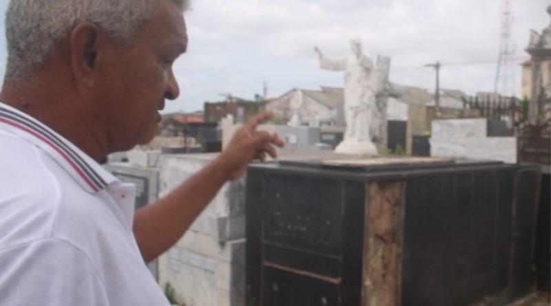 Uma vida entre as sepulturas do Gavião