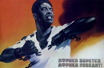 """""""África está lutando! África prevalecerá!"""""""
