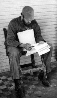 Fidel Castro na área do ciclone Flora, Outubro do ano de 1963.