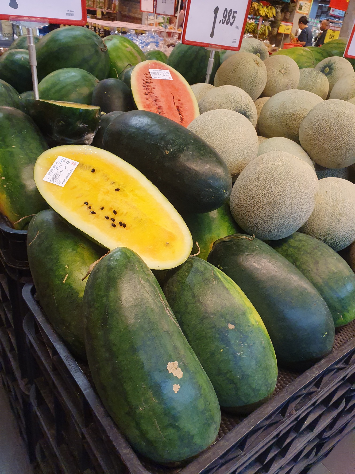 Yellow Watermelon Information Recipes and Facts