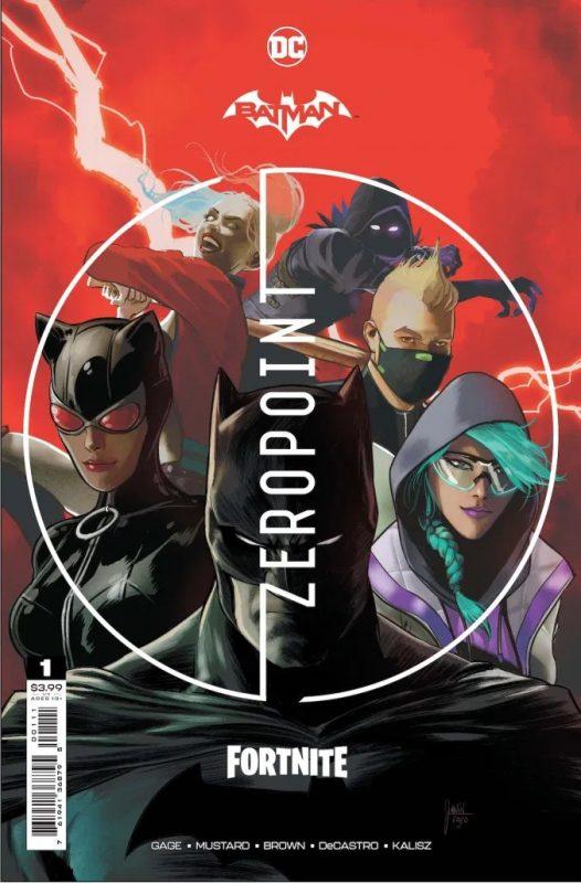 Комикс Фортнайт x DC Universe. Коды на Скины, Новая Харли Квин и Бетмен