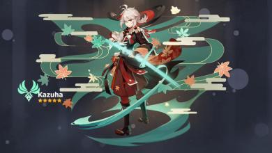 Утечки Genshin Impact Раскрывают Стихийный Навык Казухи, Взрыв, Полное Имя и Модель Персонажа.