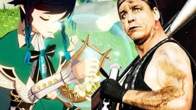 Один Игрок Genshin Impact Воссоздал Мелодию Rammstein - Sonne на Лире