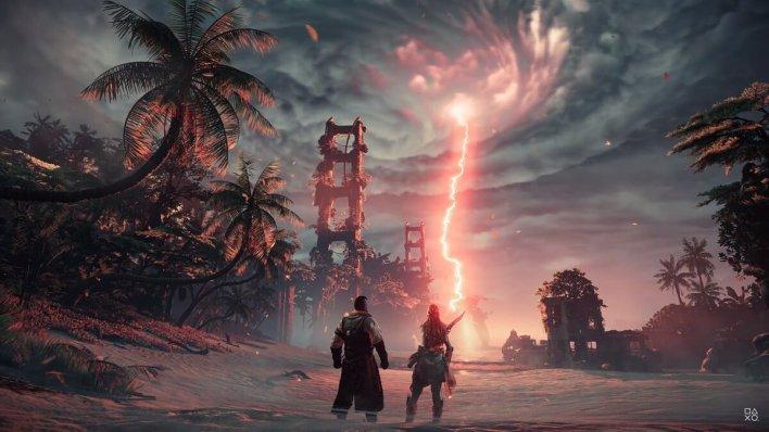 Sony Показала Геймплей Horizon Forbidden West для PS5 в 4K