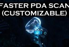 Subnautica: Below Zero — Мод на Быстрое Сканирование