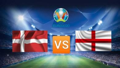 Дания — Англия: Онлайн-Трансляция Матча 1/2 Финала Евро-2020