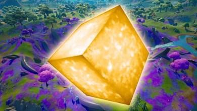 Золотой Куб Фортнайт Делает Свой Ход, Куда он Направится?