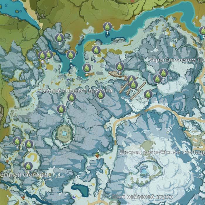 Искатель Лунного Света Genhin Impact - Расположение Всех Амулетов Лунной Охоты и Сундуков Таинственной Луны