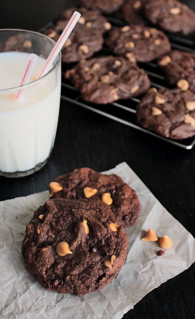 DoubleChocolatePBCookies3