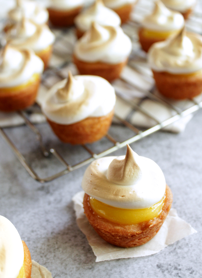 Two-Bite Lemon Meringue Pies
