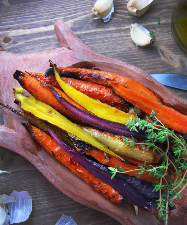 Whole Roasted Carrots 2
