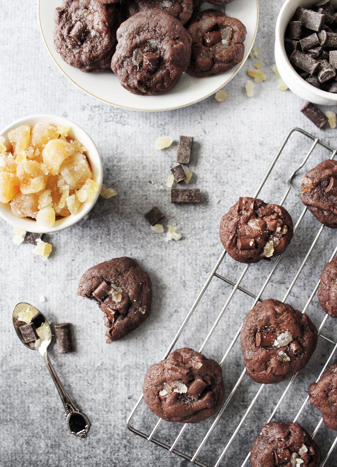 ChocolateCandiedGingerCookies1-2