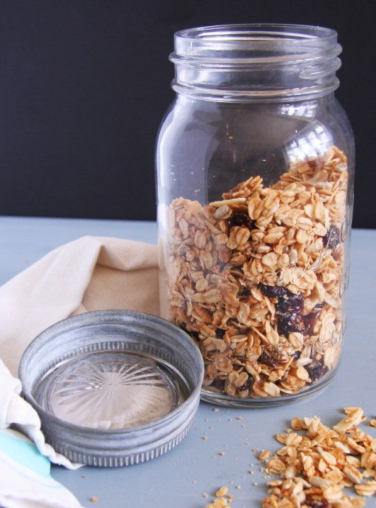 Cranberry Coconut Granola 4
