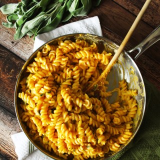 Butternut Squash Rotini with Fried Sage