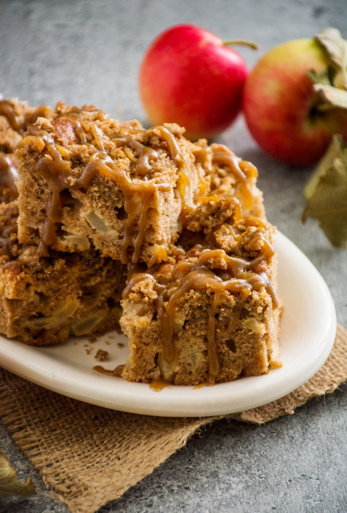 Caramel Apple Pie Coffee Cake