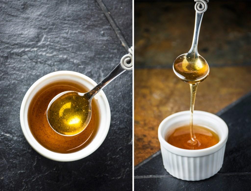 Vanilla-infused Honey