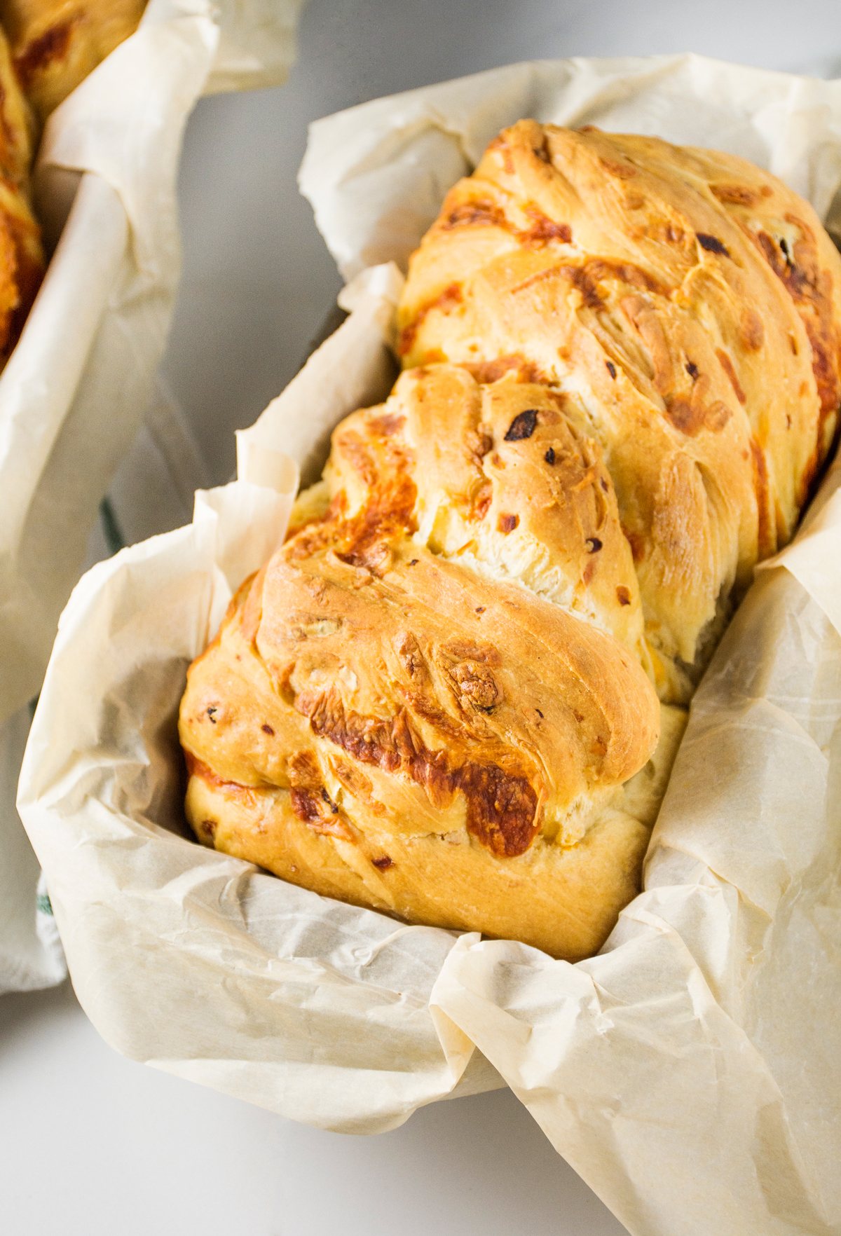 Caramelized Onion Cheddar Bread