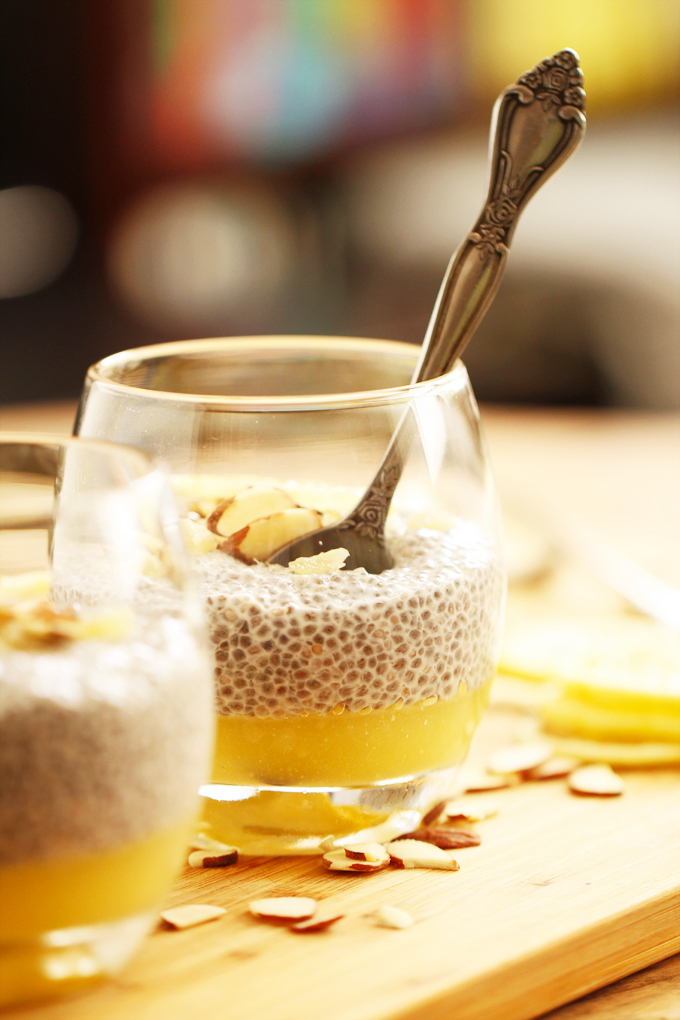 Lemon Curd Chia Pudding