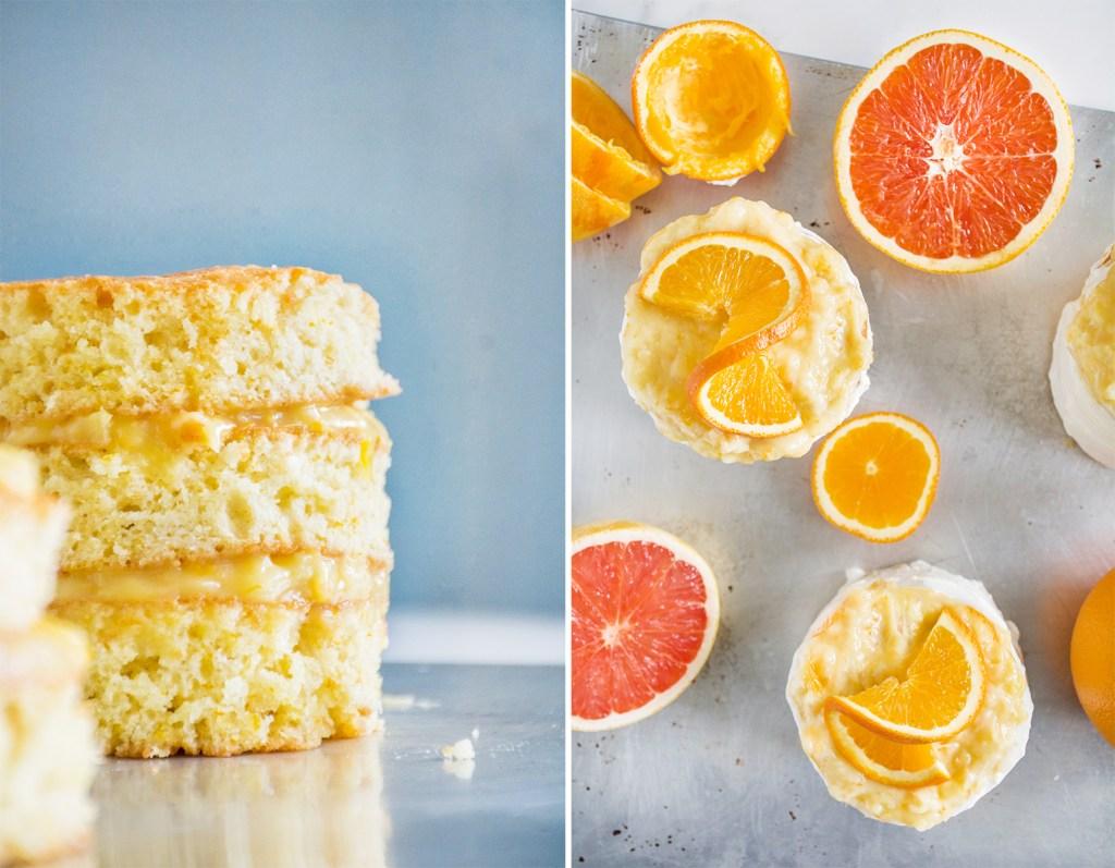 Spring Sunshine Cake