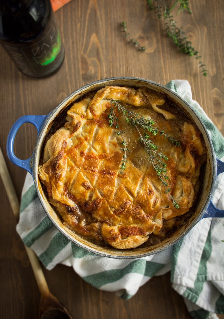 Steak & Stout Pie