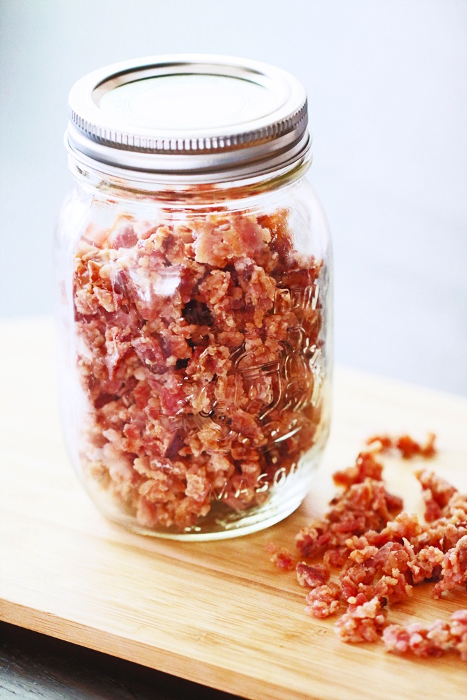 Homemade bacon bits bacon bits who doesnt love those crunchy flavourful little nuggets whether you sprinkle them over a baked potato toss them into salads or add a few to ccuart Images