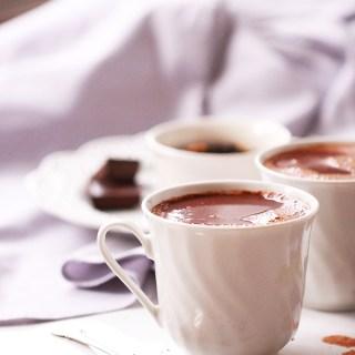 Earl Grey Hot Chocolate