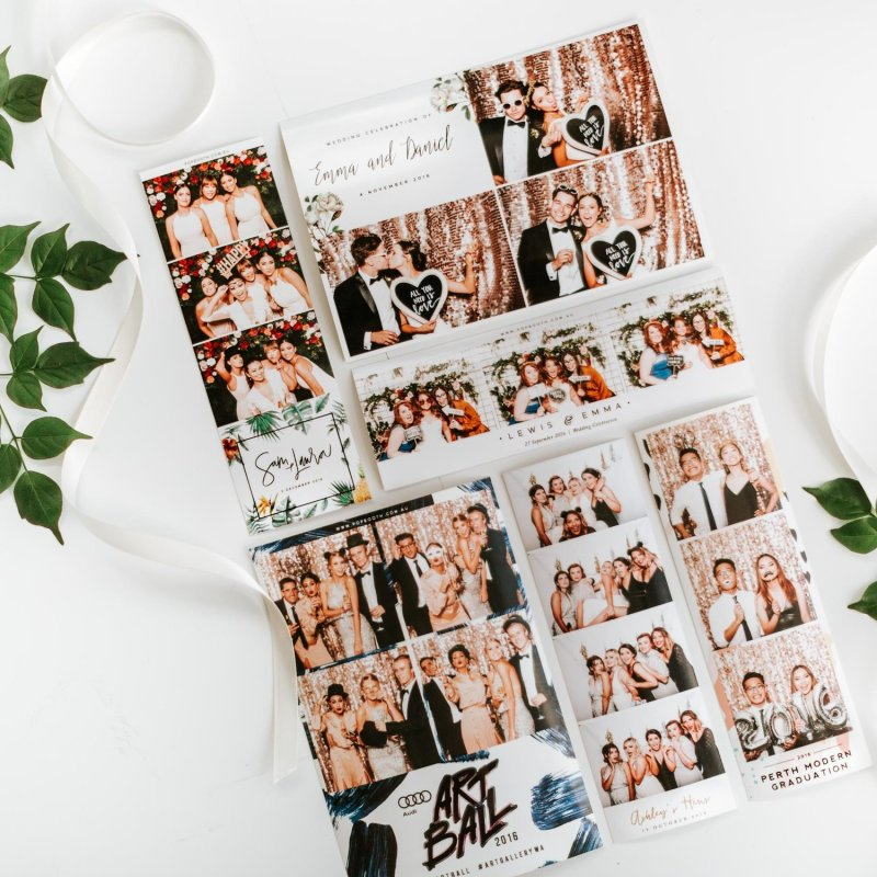 photo booth photo strips