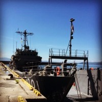 海上自衛隊輸送艇1号、一般公開で見て来た