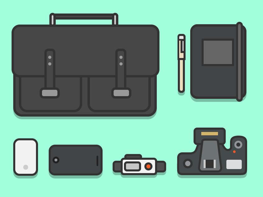 Desktop Illustration