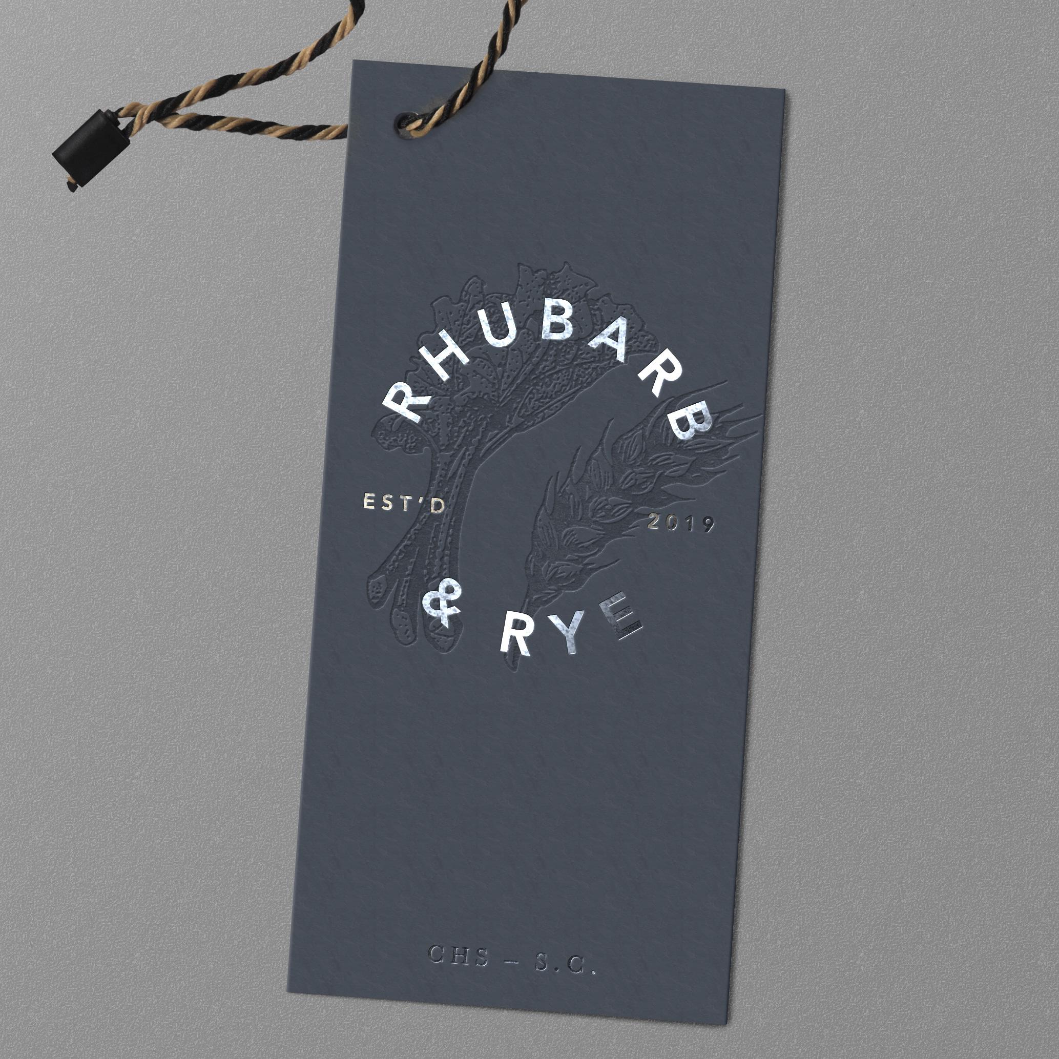 Rhubarb & Rye Identity Design