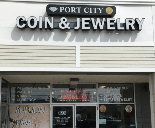 Port City Coin and Jewelry serving Hampton and Dover NH