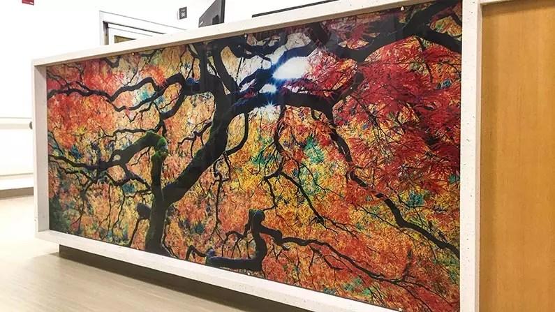large format printing acrylic printing