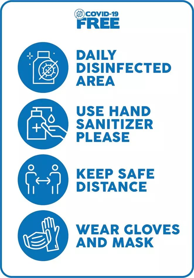 Covid-19 Safety Sign