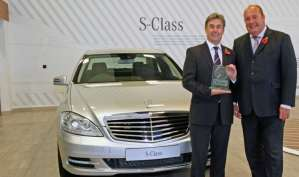 Portcullis Executive Travel | Mercedes S-class-award