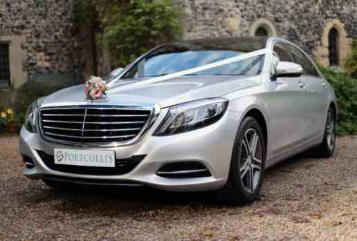 Chauffeured Luxury Mercedes S-Class Wedding Cars