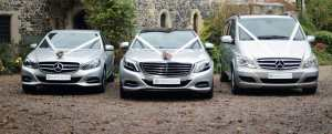 Portcullis Luxury Wedding Cars | Mercedes Benz Wedding Cars