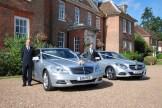 Mercedes S-Class and E-Class