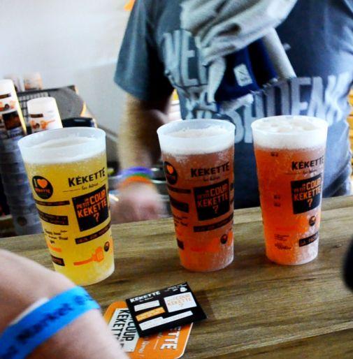 La Bière Kékette indispensable lors du Binz Market