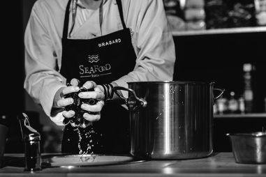 Moules cuisinées lors de la battle Sea Food Fusion