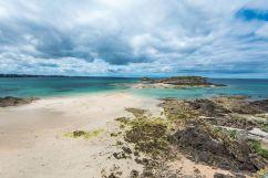 La plage de Bon Secours à Saint-Malo