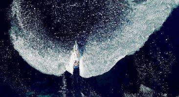 Le bateau du breton Guirec Soudée, répondant au nom d'Yvinec