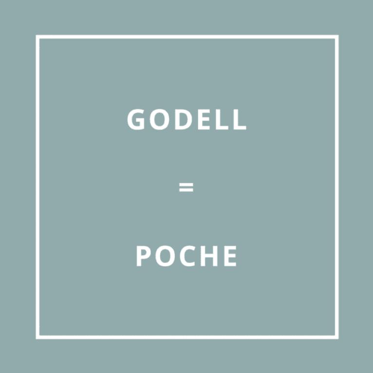Traduction bretonne : GODELL = POCHE
