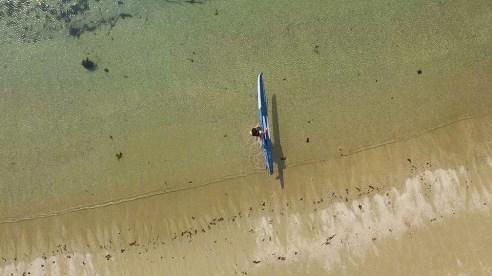 Nahskwell en sortie sur les eaux bretonnes