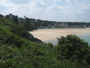 Saint-Cast-Le-Guildo (22) : plage sympathique